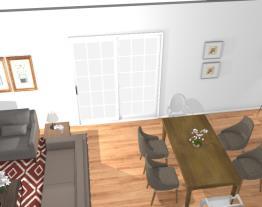 Casa Fazenda (Salas de estar e jantar)