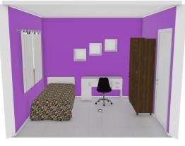 Meu projeto de quarto no Mooble