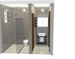 Lavabo e Banheiro Apartamento 9