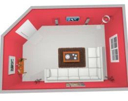 Essencial Bella - parede rosa6
