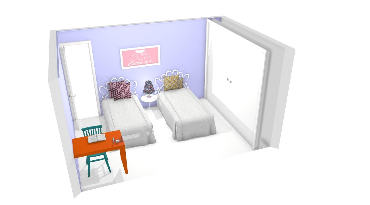 quartos das meninas