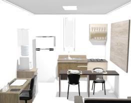Regiane sala / cozinha 1º andar