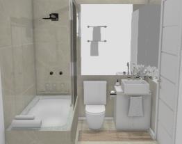 2 Banheiro de casal - designer Graziela Lara
