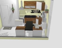 Cozinha Quarta Divisão Móveis