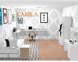 Quarto Tumblr da Camila