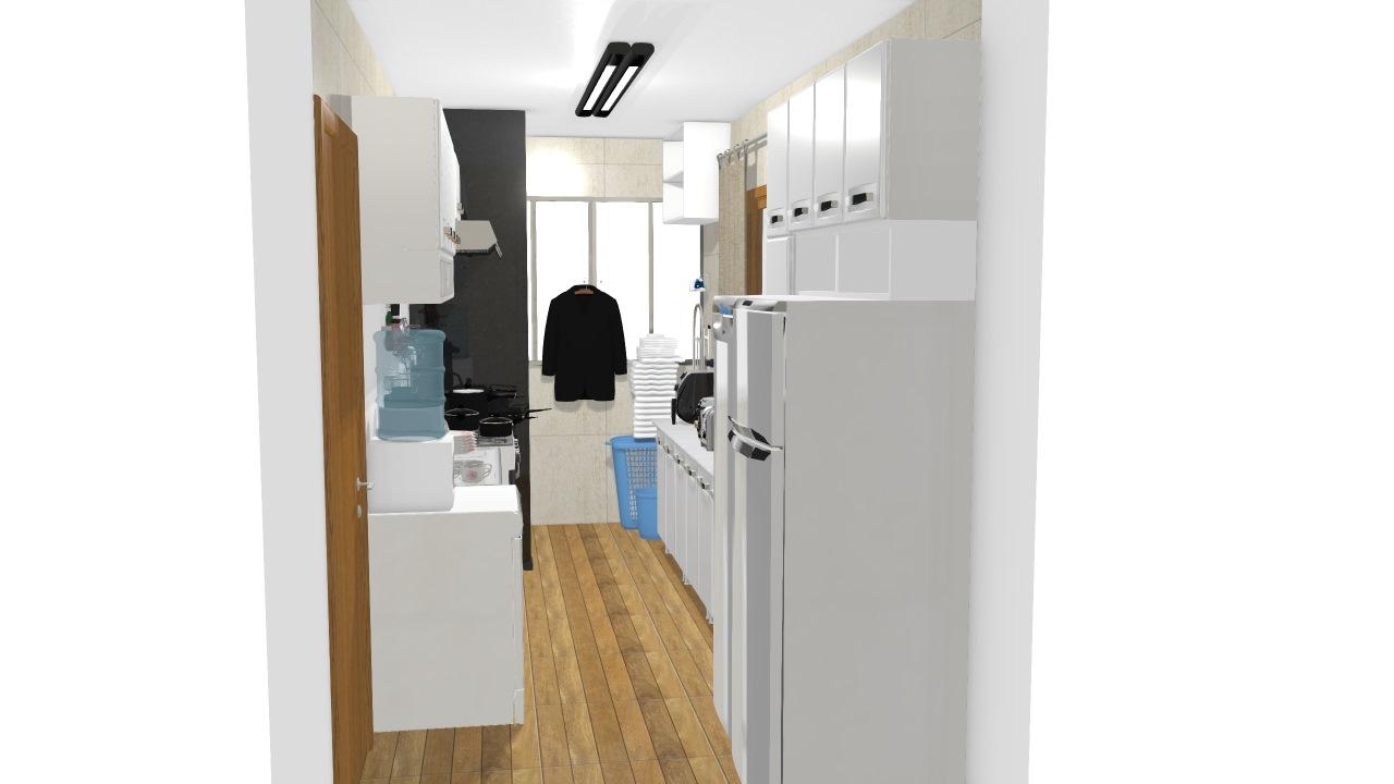Cozinha e Área de Serviço - Olga