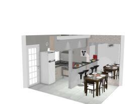 cozinha Geladeira direita