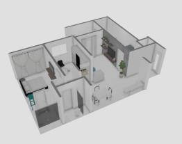 casa com armario no escritorio