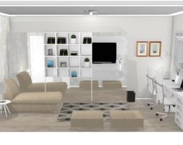 Home office família - Graziela Lara
