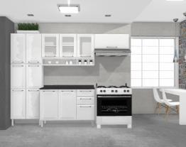 Cozinha Tarsila Amarela - Branco