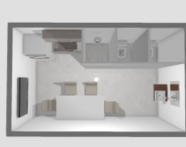 Cozinha/Banheiro Galpão