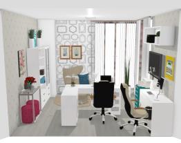Escritório home office Grazi Lara