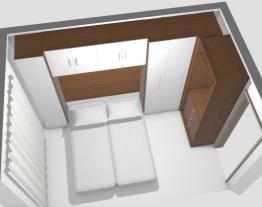 Projeto armário do quarto novo