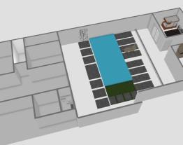 terreno casa com piscina