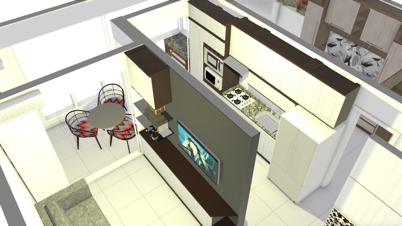 Apartamento Unitá Provenzza Com Mesa Sala191