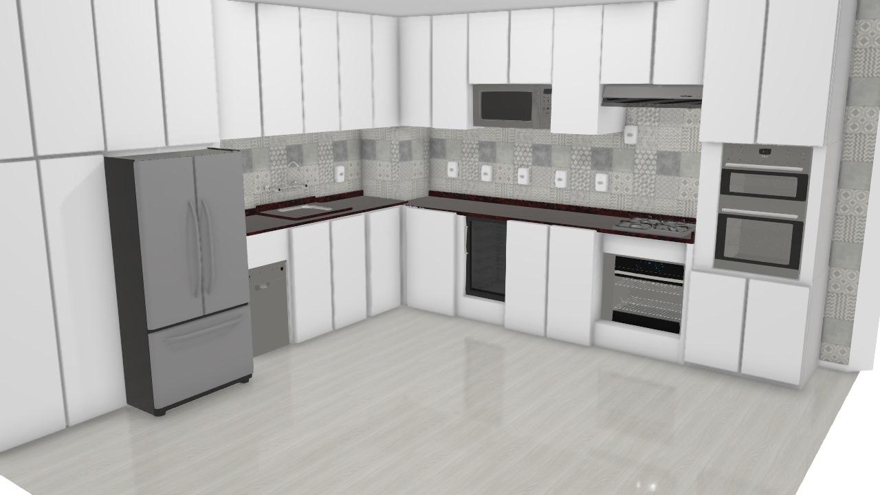 Cozinha Planejada com adega
