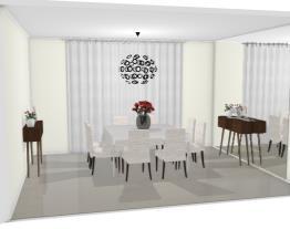 Sala de jantar decoração