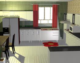 cozinha  bonitinha