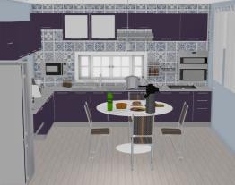 minha cozinha Lilas  16