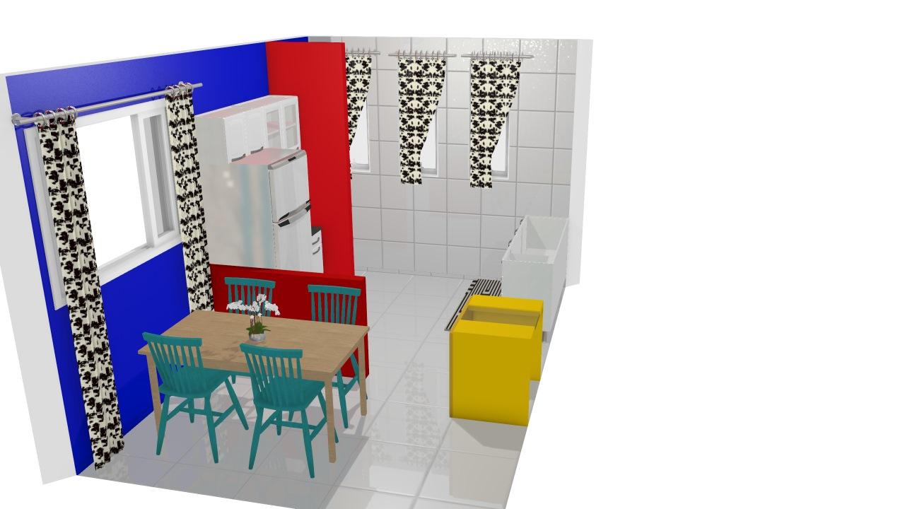 cozinha colorida -dijane