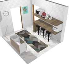 Casa/Apartamento para solteiro(a) - cozinha