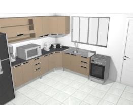 Cozinha 3,41 por 3,50 sem mesa