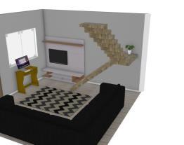 sala da minha casaa