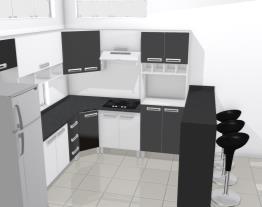 Projeto Cozinha com cooktop
