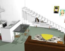 sala/cozinha/lavanderia