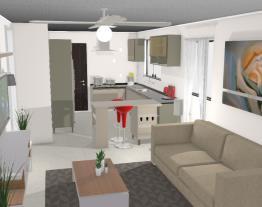 cozinha e sala jose