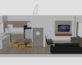 cozinha ampliada