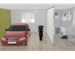 garagem e lavanderia