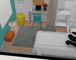 ideia de quarto pequeno