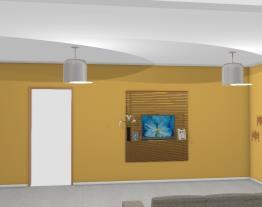 projeto sala de casa