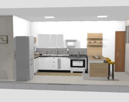 cozinha em construção