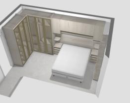 projeto dormitorio de casal  luciene porta de vidro