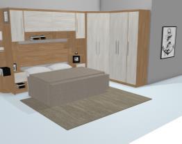 Quarto Casal Modulado Completo 7 Módulos Athena/Alpes - Santos Andirá