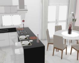 cozinha jantar mesa redonda 3