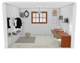 Projeto quarto estudo/closet Thay <3