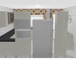 Cozinha Casa Térrea 12x25