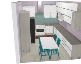 cozinha lu mudando fogão