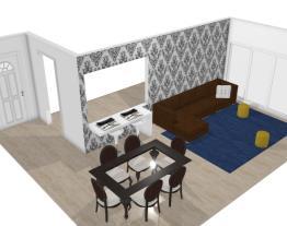 Sala/Sala de jantar/cozinha