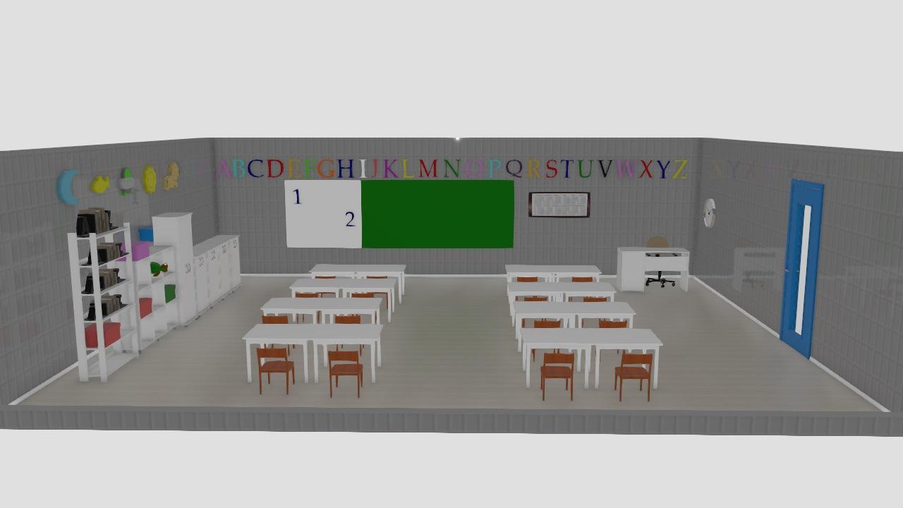 Sala de Aula Infantil 1