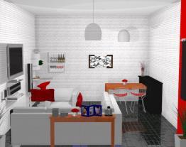 Meu projeto no Mooble sala completa e linda...
