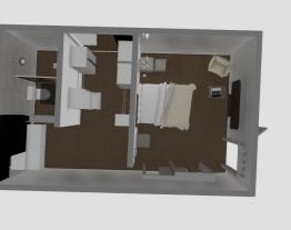 Quarto de Casal Completo (banheiro e closet)