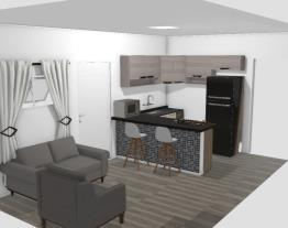 Cozinha + Sala