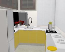 Cozinha loft - Graziela Lara
