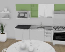 Cozinha Tarsila Laranja - Verde