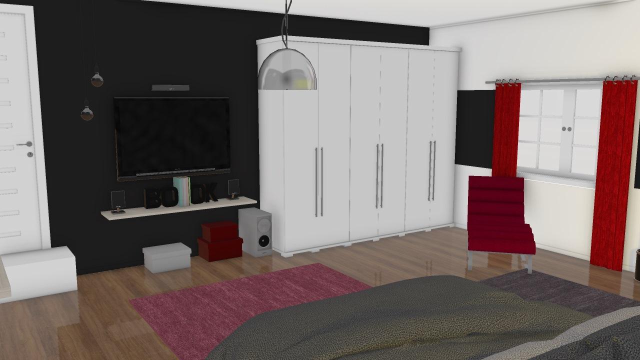 meu novo quarto