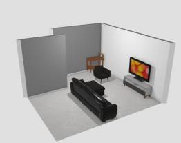 Meu projeto no Mooble BV Sala de TV